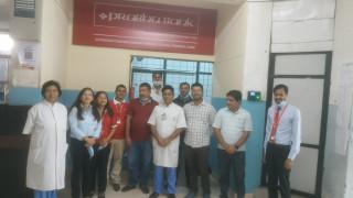 गण्डकी मेडिकल कलेजमा प्रभु बैंक लि. को काउण्टर सञ्चालन